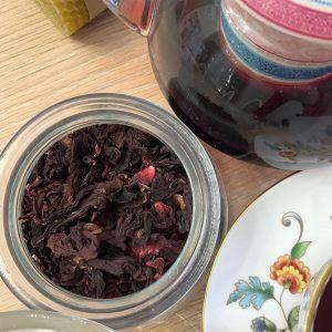 чай с гибискусом