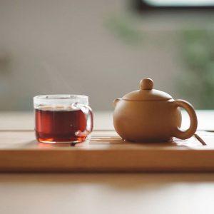 чай с гранатом
