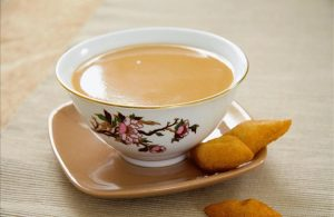 калмыцкий чай с молоком