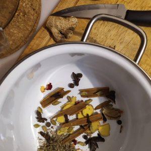 как приготовить чай масала