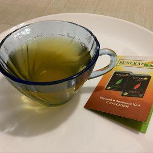 зеленый чай с саусепом