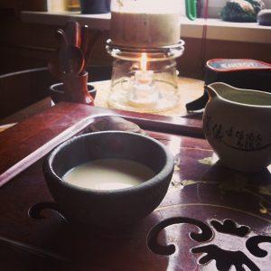 соленый тибетский чай