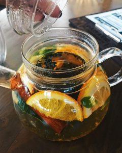 марокканский чай с цитрусом