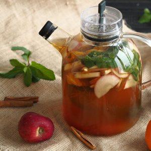 чай из яблок